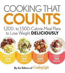 Food Calorie Book Cooking That Counts 1 200 To 1 500 Calorie Meal Plans To Lose
