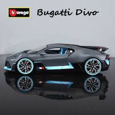 After two years of development, the bugatti divo will be ready to dance around canyon roads this year. Bburago 1 18 Scale Die Cast Metal Model Bugatti Divo Car Collection Toy Vehicles Ebay