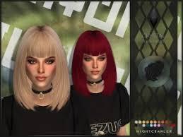Simista: Alesso`s Emilia hairstyle retextured ~ Sims 4 Hairs