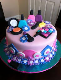 Spa Birthday Cake And Cupcakes For Teen Girls Cakes