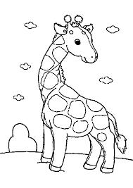 Dessin Imprimer Prefix Girafe Rigolote A Imprimer Gratuit
