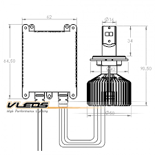 h13 bulb wiring diagram h13 image wiring diagram h13 9008 led headlights high low high output lmz platinum 45w on h13 bulb wiring diagram
