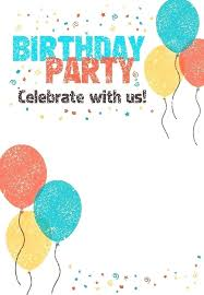 Free Party Invites Templates Free Party Invitations Free Pool Party Invitation Download