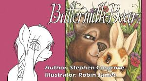 Robin James Illustrator Buttermilk Bear Presented By Embers Reading Room Youtube