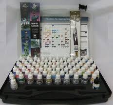 Av Vallejo Model Color Basic Colour Combinations Box Set 72 Colours Vallejo Game Color Box Set 72 ColoursL