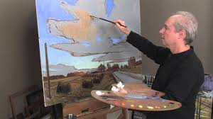 preview oil painting techniques dramatic sky with brian keeler you