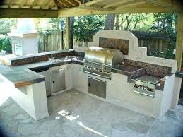 building outdoor kitchen how to build a outdoor kitchen with cinder blocks amazing decoration cinder block