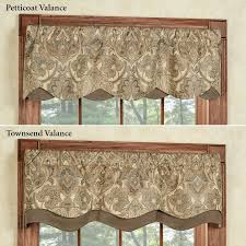 appealing kitchen valance patterns and best 10 window in designs