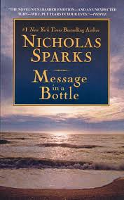 message in a bottle novel summary message in a bottle