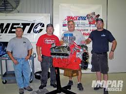 dickey machine works the amsoil mopar muscle engine challenge jd engine and machine