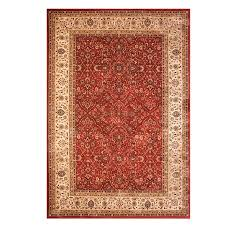 drexel heritage majestic manchester red area rug