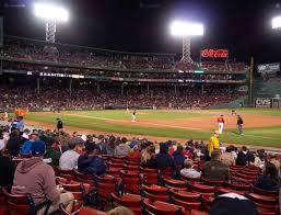 Boston Red Sox Seating Chart View Fenway Park Loge Box 102 Seat Views Seatgeek