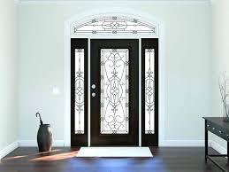 leaded glass front door inserts