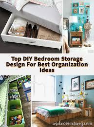 Hauswunderschoncom 20 Top Diy Schlafzimmer Storage Design Für Die