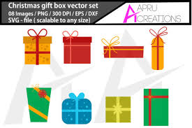 Free christmas vector download in ai, svg, eps and cdr. Christmas Gift Box Vector Graphic By Aparnastjp Creative Fabrica