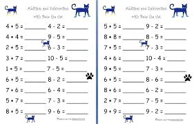 Kindergarten Math Worksheet Addition Kindergarten Math Worksheets ...