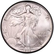 1986 Liberty Silver Dollar Value Chart New Dollar