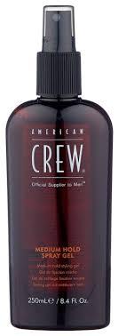<b>American Crew спрей-гель для</b> укладки Medium Hold Spray Gel ...