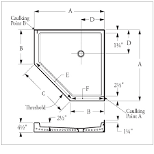 corner shower stall dimensions. Florestone Terrazzo Model 350 NEO Angle Shower Receptors Corner Stall Dimensions