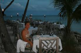Dining Room At Little Palm Island