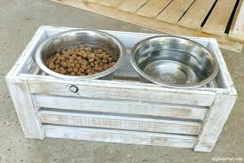 pet bowl stands elevated dog bowl stand plans raised dog bowl stands