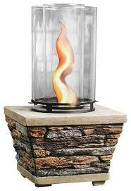 table top gel vortex fire column flame burner 18 rustic fire pits by mellow monkey llc