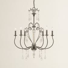 bouchette traditional 6 light candle style chandelier