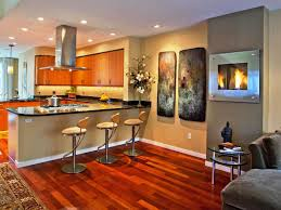 Open Kitchen Dining Living Room Amazing Floor Plans Open Kitchen Dining Living Design Ideas