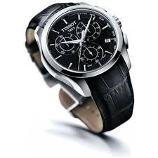 tissot couturier men s black chronograph trend watch t035 617 16 0 tissot couturier men s black chronograph trend watch