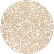 artistic weavers cleome beige 8 ft x 8 ft round indoor outdoor area