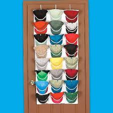 Over The Door Hat Rack Awesome Organize Your Baseball Hats With An Over The Door Cap Organizer