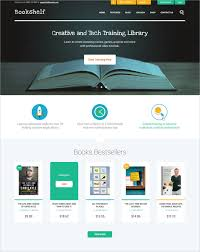 Simple Website Template Magnificent 48 Book Store Website Themes Templates Free Premium Templates