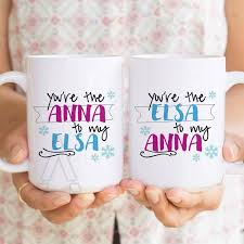 gifts for sister, best friend mugs