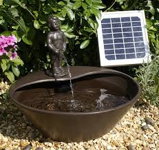 38 Best Patio Water Feature Images On Pinterest  Water Features Solar Powered Water Feature With Lights