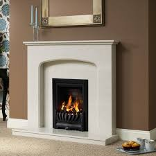 delicate curves and simple neat lines make this fireplace ideal for compact and smaller room sizes