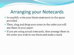 how to write a research paper ppt video online  arranging your notecards 14 writing your paper