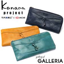 kanana project cowhide thin leather wallet with rust wallet long wallet genuine leather coin purse 34572