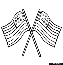 Small Picture Flag Day Coloring Pages Page 1