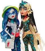 monster high cleo de nile ghoulia yelps 2 pack