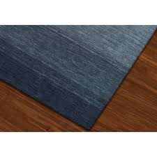 8 x 10 Large Ombre Navy Blue Area Rug - Torino | RC Willey Furniture Store