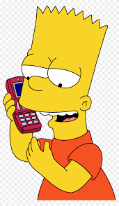 bart simpson wallpaper with anime enled bart simpson bart simpson calling