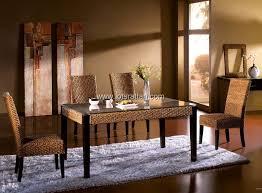 rattan dining room set. rattan dining room sets set hc106 7 hc301 9a
