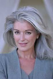 best grey haircut for women over 50