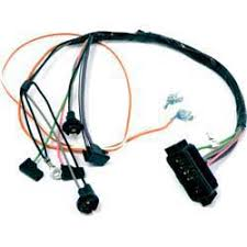 1968 chevrolet camaro parts electrical and wiring wiring and 1969 camaro wiring harness radio 1968 camaro with automatic transmission without console gauges console harness