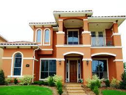 Orange Exterior House Paint Best Orange Exterior House Paint Cool Exterior House Paint Design