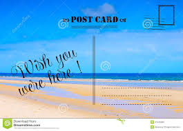 wish you were here summer vacation postcard stock photo image wish you were here summer vacation postcard