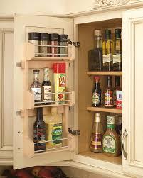 Shelf Cabinet With Doors 10 Inch Door Mount Spice Rack 4sr 15