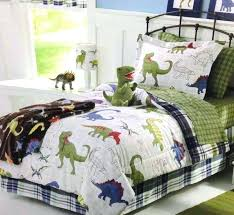 dinosaur bedding sets blue green white dinosaurs boys twin comforter set piece bed in a bag