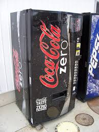 Coke Zero Vending Machine