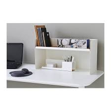 Olives Desk system BEKANT Desktop shelf - white - IKEA
